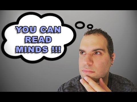 LEARN a SIMPLE way to read anyone's mind! By SpideyHypnosis