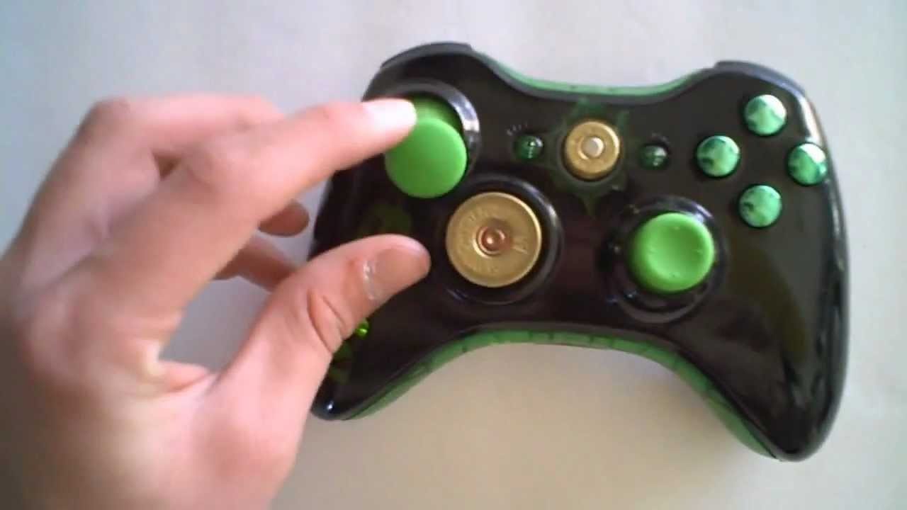 Custom Mw3 Light Up Xbox 360 Controller For Ali A Youtube