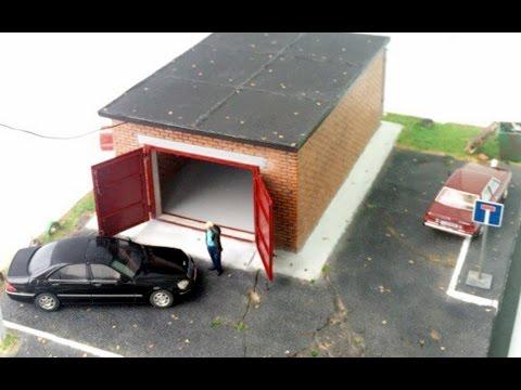 Миниатюрный гараж