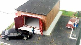 як зробити іграшковий гараж