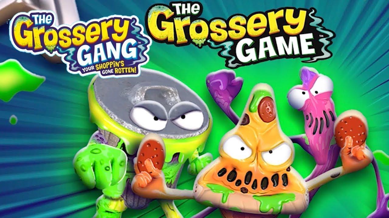 Grossery Gang Cartoon | THE GROSSERY GAME | SEASON 3 APP | Grossery Gang App Walkthrough