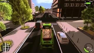 Construction Simulator 2015 Container Transport Fraps Test