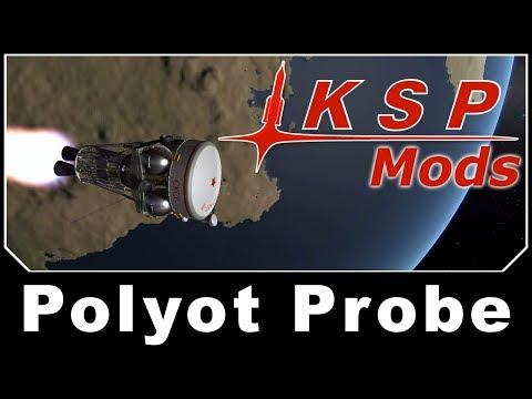 KSP Mods - Polyot Probe