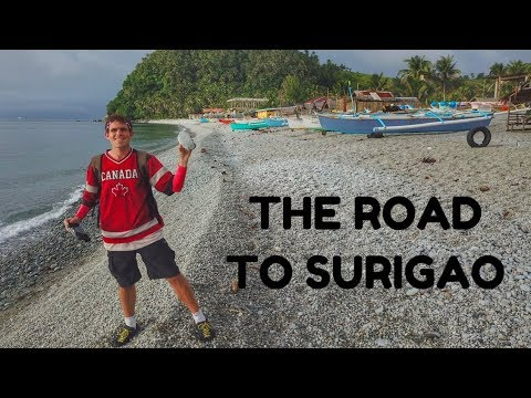 MOTORBIKING TO SURIGAO ALONE - Inspiring Filipinos In Mindanao