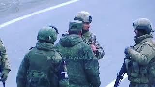 Kelbecerde Azerbaycan Askeri ve Rus askeri