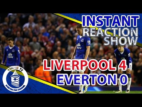 Taxi For Roberto | Instant Match Reaction | Liverpool 4- 0 Everton