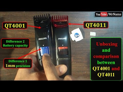 Philips Cordless Trimmer | Philips QT4001/15 and QT 4011/15 Advanced Trimmer