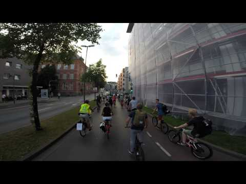 Critical Mass Wuppertal - August 2015