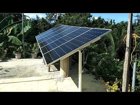 Solar Power - Low Cost Sun Tracker In The Philippines