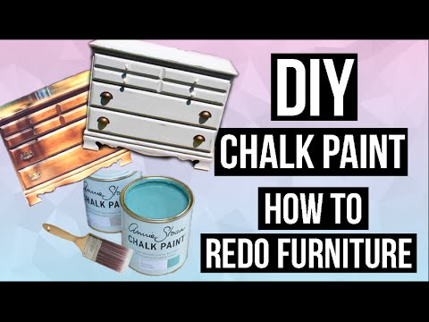 DIY Chalk Paint & How to Paint and Distress Furniture ...