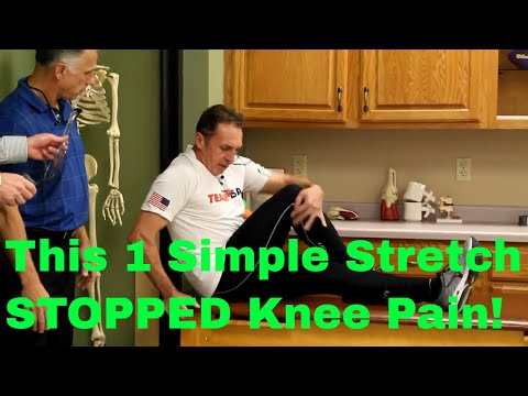 How 1 Simple Stretch STOPPED Real Patient's Knee Pain-Now Doing Iron Man Races!