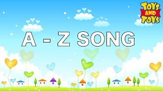A to Z Song for babies | Learn Alphabets Phonics colors with songs and drawings| Purple ToysMania