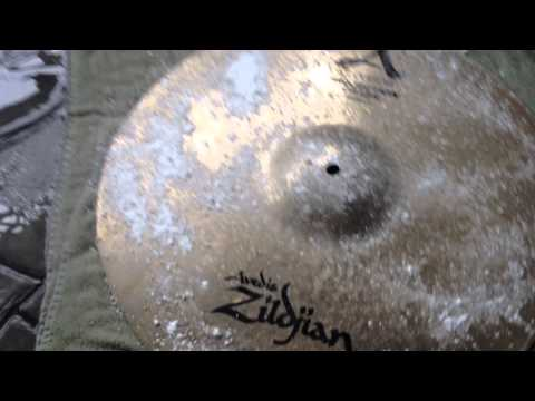 Effective Cymbal Cleaning using Bar Keepers Friend