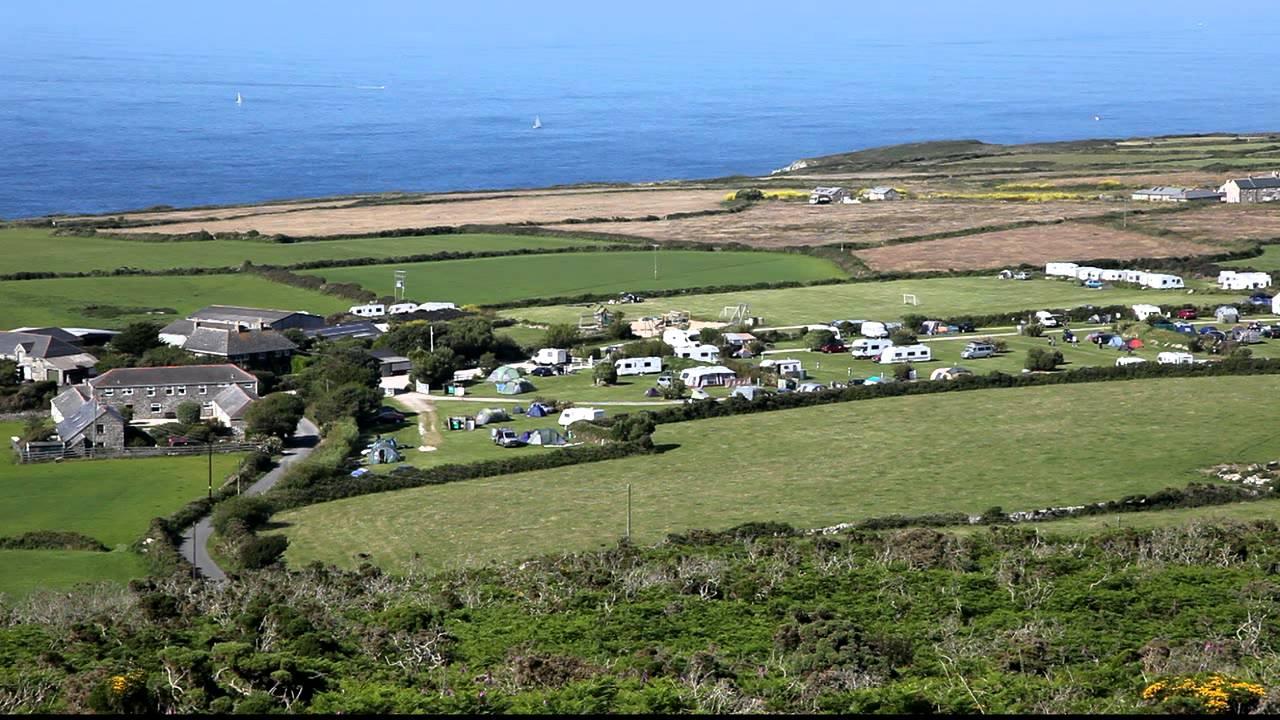 Trevalgan Touring Park >> St Ives Cornwall Trevalgan cottages & camping Park ...