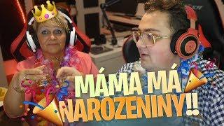 DRUNK STREAM! Oslava narozenin s mámou
