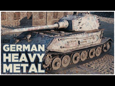 VK 45.02 (P) Ausf. B • GERMAN HEAVY METAL • WoT Gameplay