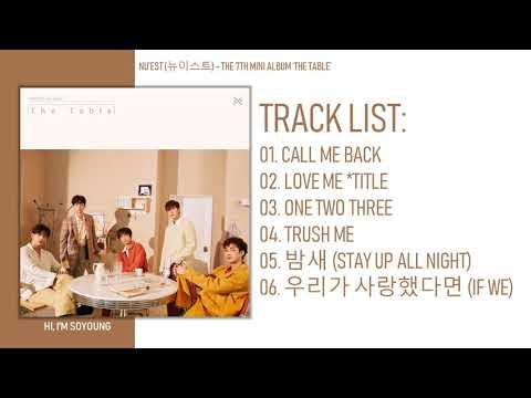 [MINI ALBUM] NU'EST (뉴이스트) – THE 7TH MINI ALBUM 'THE TABLE'