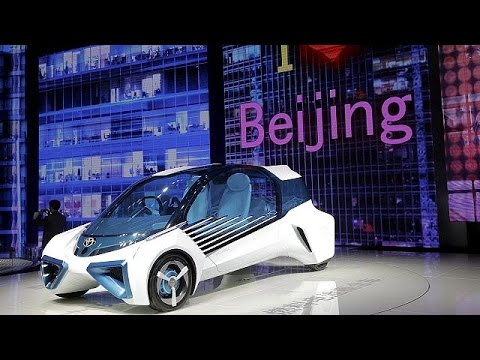 Think big, think hybrid at the Beijing auto show