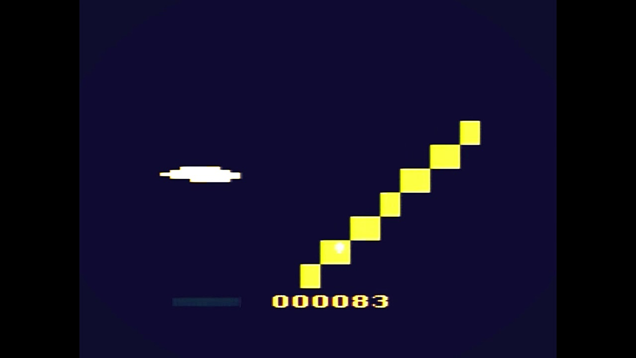 Astronomer Gameplay for Atari 2600 score: 23 (patch earned)
