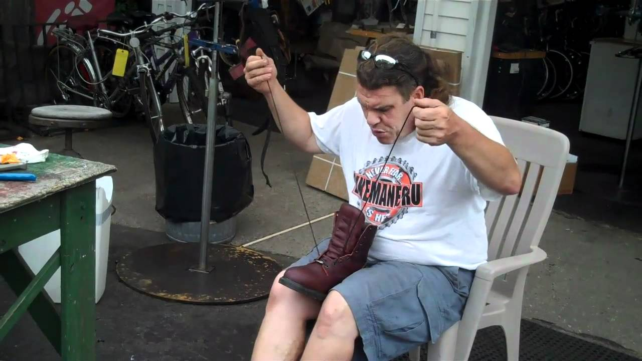 RED WING Boots Made In USA Make HAPPY BikemanforU FEET - YouTube