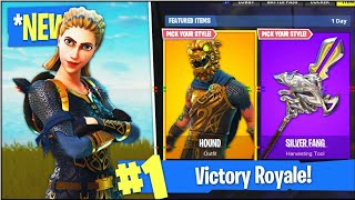 NEW HIGHLAND WARRIOR SKIN Level 78+ | Fortnite Battle Royale | 500 SUBSCRIBERS!!!