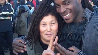 Small-town Korean woman meets her first black person ever