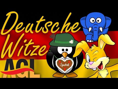 Lustige deutsche WITZE! [learn German][Deutsch lernen]