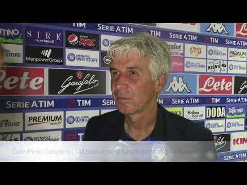 Napoli-Atalanta il commento di Gian Piero Gasperini