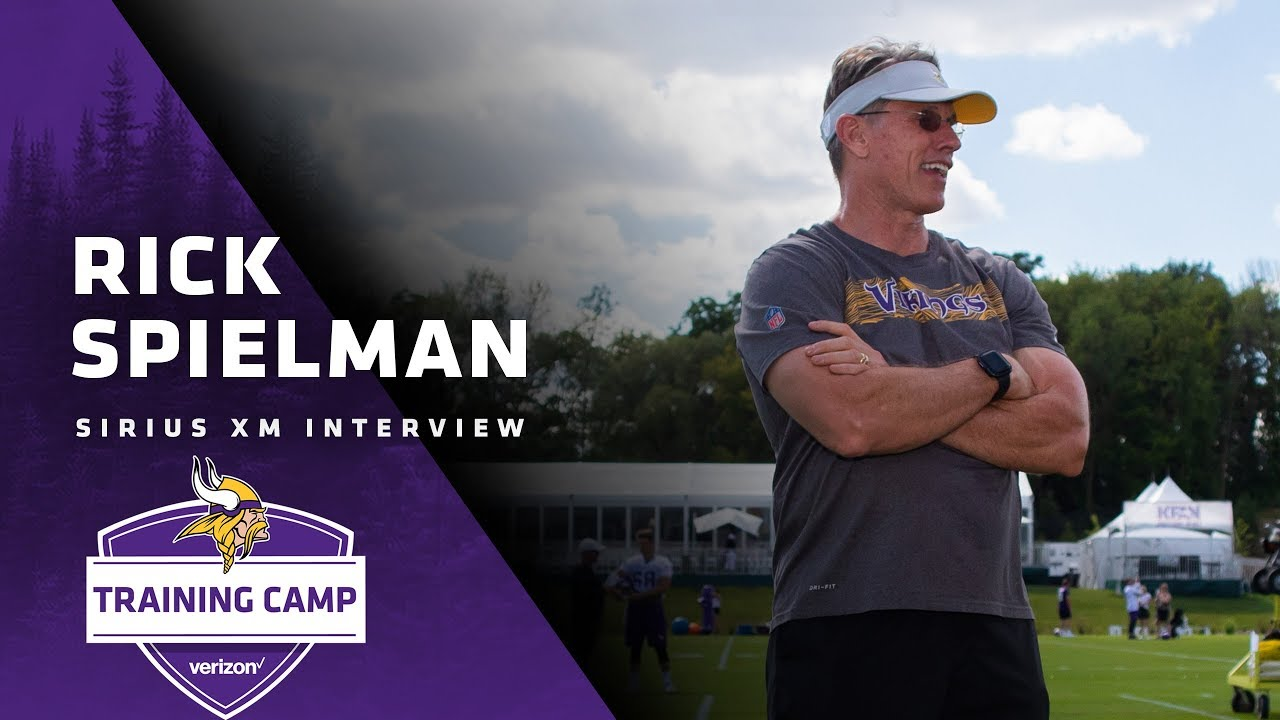 Nfl On Sirius >> Rick Spielman On The Trade And Plan For Kaare Vedvik Laquon Treadwell S Status