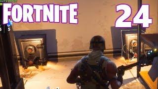 [24] The Secret Vault! (Let's Play FortNite Multiplayer)