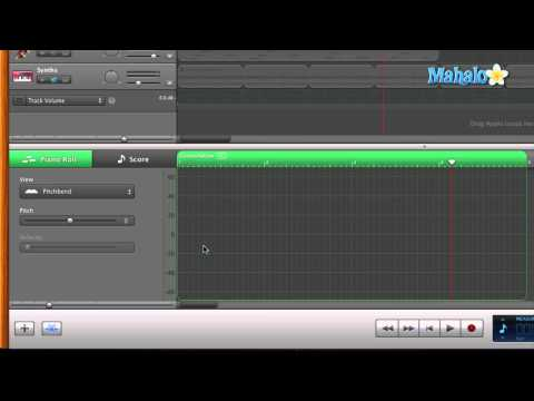 GarageBand Tutorial - MIDI Pitch Bend