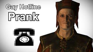 Cicero Calls the Gay Hotline - Skyrim Prank Call