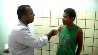 Ladrão risonho admite crimes em Teixeira de Freitas
