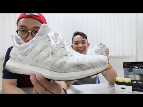 HOW TO CLEAN YOUR ULTRABOOST, YEEZY AND NMD