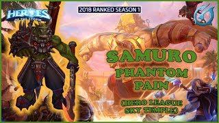 Grubby | Heroes of the Storm - Samuro - Phantom Strike Build - HL 2018 S1 - Sky Temple