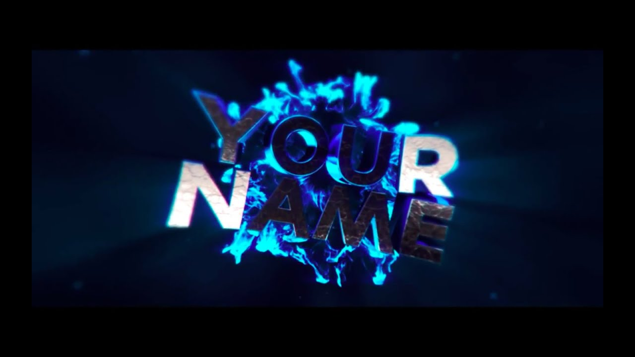 youtube intro template