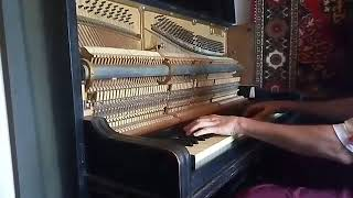 Фортепиано Knauss Coblenz. Звук. Лунная соната. Бетховен