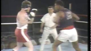 Boxing - 1985 - US National Amateur Championships - With CBSs Tim Ryan + Gil Clancy