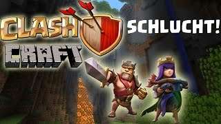 [fred] Der Barbar in der Schlucht || CLASHCRAFT || MINECRAFT & CLASH OF CLANS [Deutsch/German HD]