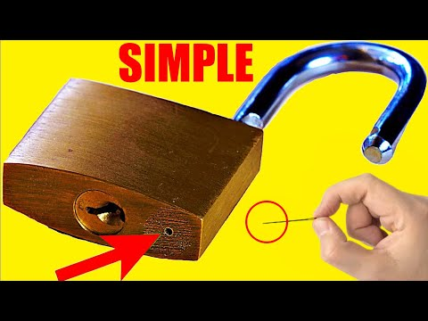 5 Ways to Open a Lock 🔴 NEW