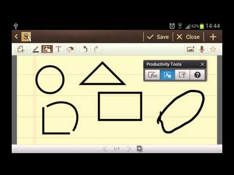 S Note Tutorial: Productivity Tools on Galaxy Note