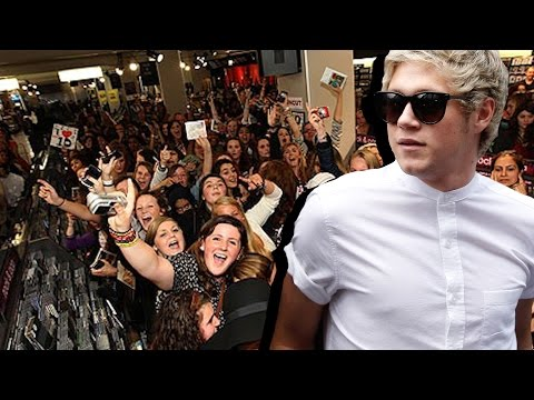 WTF! Abusive Fans Attack Niall Horan | Hollywire Mp3