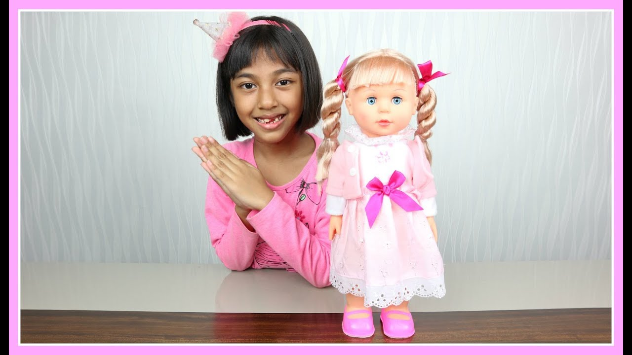 Boneka Belinda - 7L Walking Doll - Baby Doll - Playtime With Doll At Home - Unboxing  Mainan Anak 4c9b2067ba