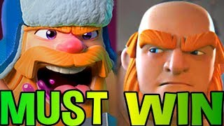 MUST. WIN. FOR... CLAN! - Clash Royale WAR DAY