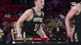 Oklahoma vs. Wofford Men's Basketball Highlights