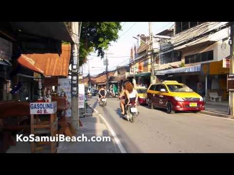Lamai Shopping Street Ko Samui Thailand