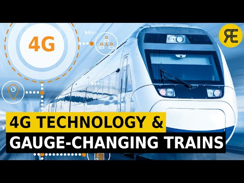 Innovations in Railways: 4G and 5G Technologies and Gauge-Changing Trains