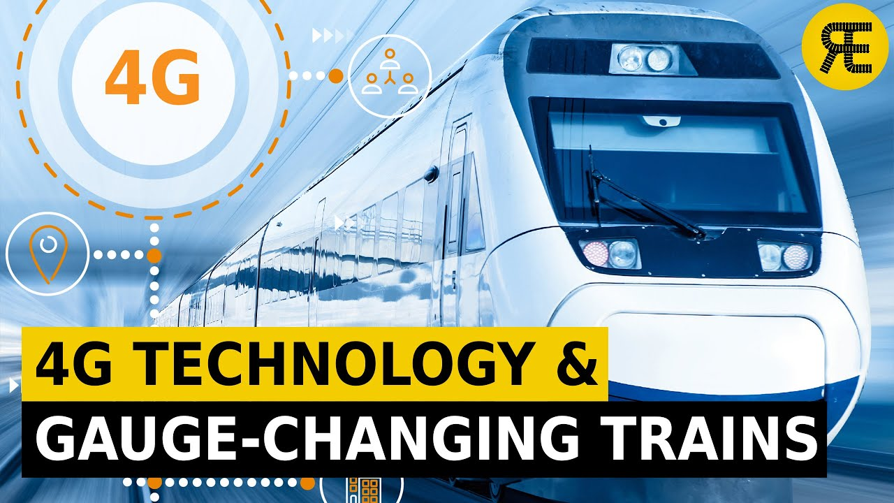 Innovations in Railways : 4G and 5G Technologies and Gauge-Changing Trains