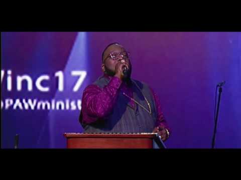 Bishop Marvin Sapp Preaching at 2017 PAW Convention!