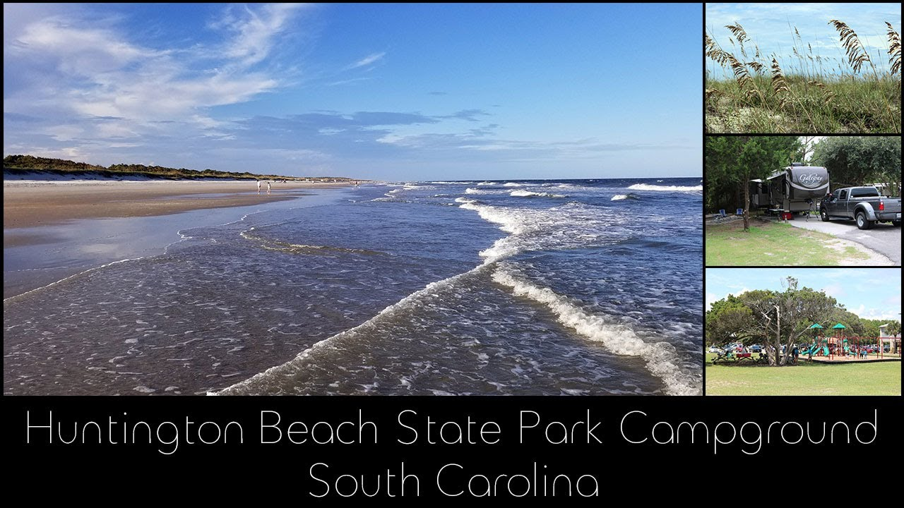 Huntington Beach State Park Campground Sc Youtube
